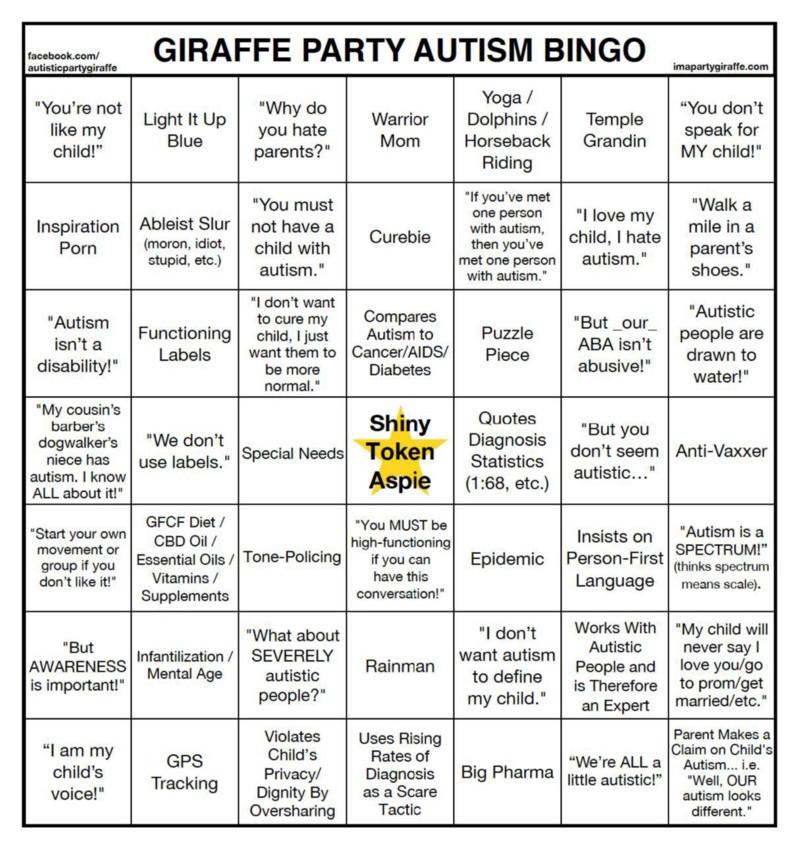 Please Stop Whitewashing Autism >> Autism Designerscaffolding